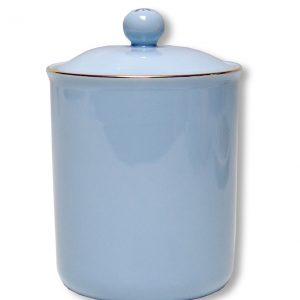 CANISTER-VINTAGE-BLUE EACH