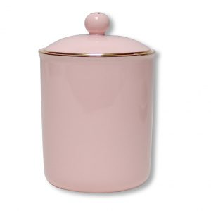 CANISTER-VINTAGE-PINK EACH