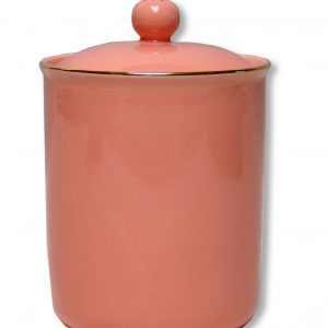 CANISTER-VINTAGE-APRICOT EACH