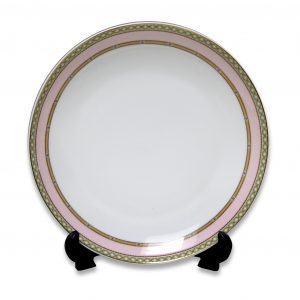 PLATE-LADY JANE-PINK (20CM) SET OF 4