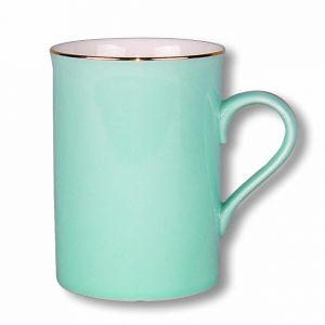 MUG-VINTAGE-TEAL SET OF 4