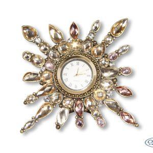 CLOCK GEMMA ROSE(10CM)