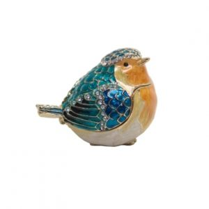 TRINKET BOX BIRD ORNAMENT