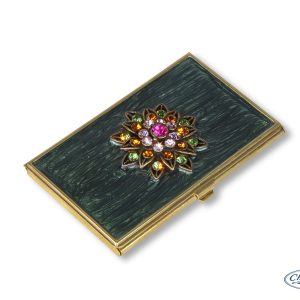 BUSINESS CARD HOLDER IMPERIAL GREEN