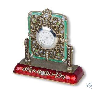 CLOCK ENAMEL CLASSIC W/CRYSTAL