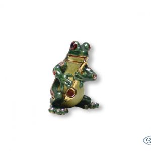 TRINKET BOX FROG ORNAMENT(6.5CM)