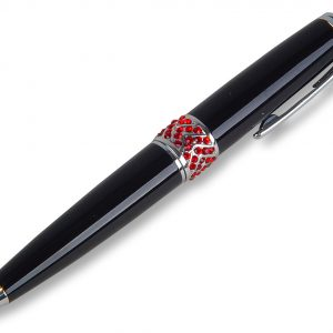 PEN-CHRISTIANA-W/CRYSTALS-RUBY